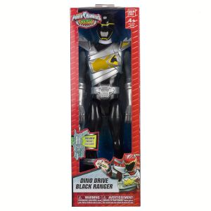 Bandai 43130 - Power Rangers noir mode drive 30 cm