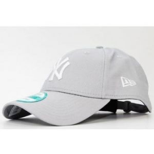 A New Era Casquette basic ny yankees gris - Taille TU