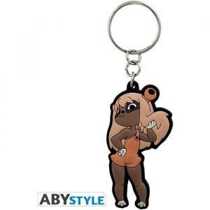 Abystyle Porte-clés Dofus Film Lilotte Matière PVC_x000D__x000D_ Dimensions H 6 cm x L 3 cm