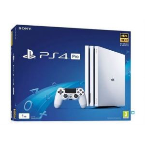 Sony PS4 Pro 1 To - Chassis White