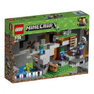 Lego 21141 - Minecraft : la Grotte du Zombie