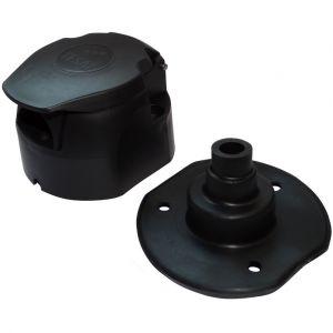 Aerzetix : Fiche femelle 7pin prise connecteur de remorque 7 broches 12V C12380 attelage faisceau câble câblage feux arrières stop