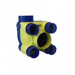 Unelvent Groupe VMC simple flux hygroréglable Hydra ST 2 HA/HB - 4 sanitaires