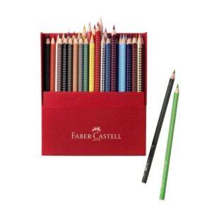 Faber-Castell Boîte de36 crayons de couleur Grip 2001 triangulaire