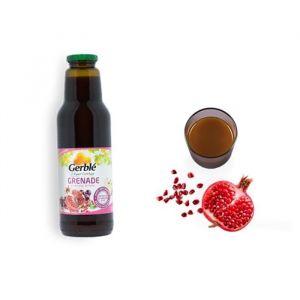 Gerblé Jus de grenade, raisin, pomme, purées de pêche et goyave - 75 cl