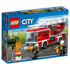 Lego 60107 : City - Le camion de pompiers avec échelle