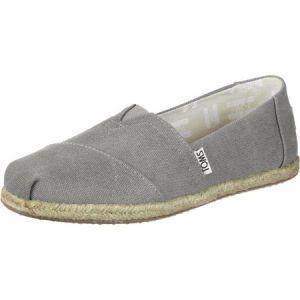 Toms Alpargata Canvas W chaussures gris 37 EU