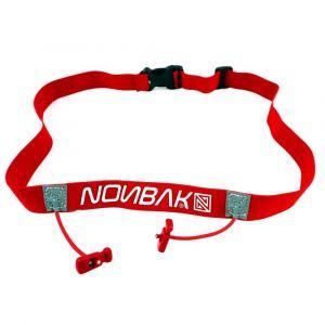 Nonbak Ceintures de course Race Belt - Red - Taille One Size