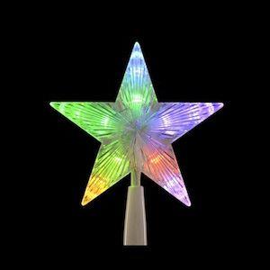 Blachère illumination Cimier étoile changement de couleur