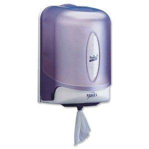 Tork Lotus mini Reflex - Distributeur pour bobine d'essuyage à dévidage central