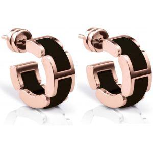 Bering link 702-36-05 - Boucles d'oreilles en acier et céramique