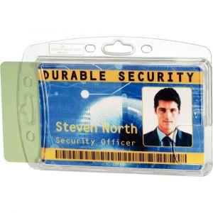 Durable Boitier rigide pour 2 cartes de sécurité x10