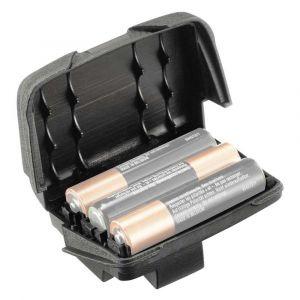 Petzl Boîtier de piles lampes frontales Reactik / Reactik+ Noir Taille unique
