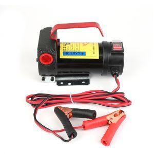 Oobest Pompe de Transfert de Carburant Fluide 12V Auto - Obturant Pistolets Automatiques Ensemble