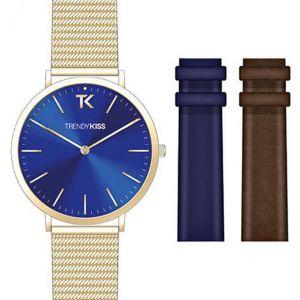 Trendy Kiss CTK-03 - Coffret montre pour femme avec 3 bracelets