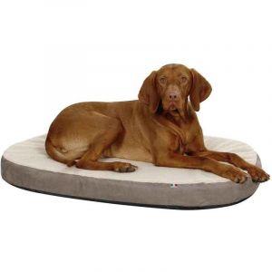 Kerbl Matelas à mémoire de forme ovale pour chien Taille S