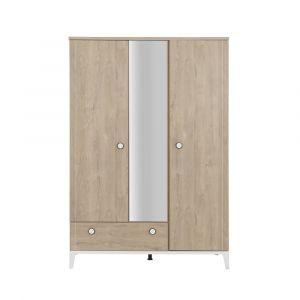 Galipette Marcel armoire 3 portes 1 tiroir - N/A