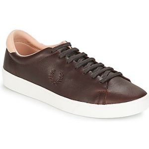 Fred Perry Baskets basses Spencer Premium Leather Marron - Taille 40,41