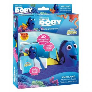 Sable à modeler magique Le Monde de Dory : bleu 200g