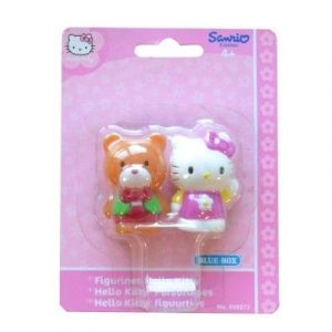 Sanrio 2 figurines Hello Kitty