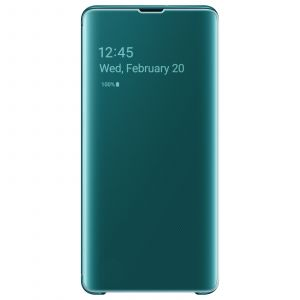 Samsung Etui S10+ Clear View cover vert