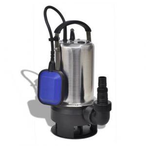 VidaXL Pompe submersible pour eaux sales 1100 W 16500 L/h