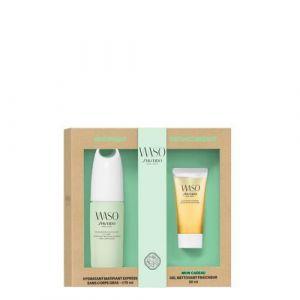 Shiseido Waso - Hydratant matifiant express et gel nettoyant fraîcheur