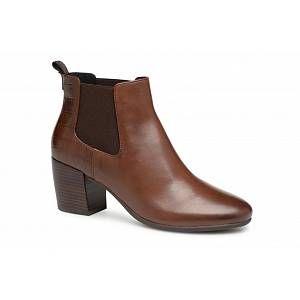Geox D NEW LUCINDA A D84AMA - Bottines et boots Femme, Marron