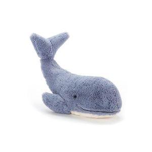 Jellycat Peluche baleine 13cm wilbur whale small