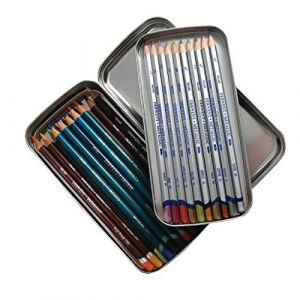 Derwent Boîte de rangement en métal pour crayons