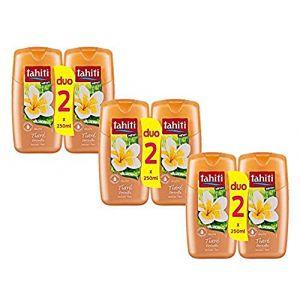 Tahiti Gel Douche Tiaré Sensuelle - Les 2 Flacons de 250 ml