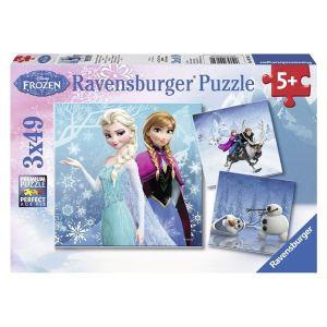 Ravensburger La Reine des Neiges - Coffret 3 puzzles 49 pièces