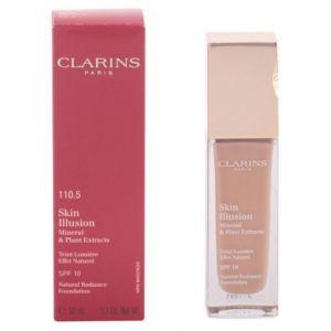 Clarins Skin Illusion 110.5 Almond - Teint lumière effet naturel SPF 10