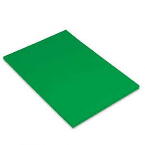 Canson Iris Vivaldi Papier couleur A4 Lisse 185g/m² 21 x 29,7 cm Vert Franc Lot de 50