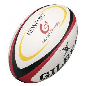 Gilbert Ballon de rugby REPLICA - Gwent Dragons - Taille Midi