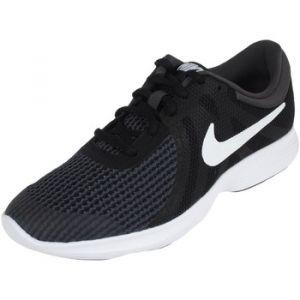 Nike Revolution 4 (GS), Chaussures de Running Garçon, Noir (Black/White-Anthracite 006), 36.5 EU