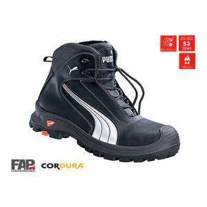 Puma Safety Chaussure de sécurité Cascades Mid S3 HRO SRC taille 44