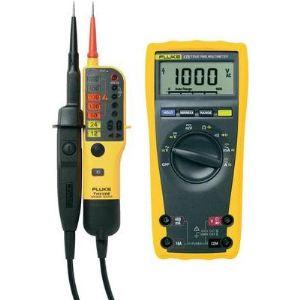 Fluke 175 True RMS - Multimètre numérique avec testeur VAT T110