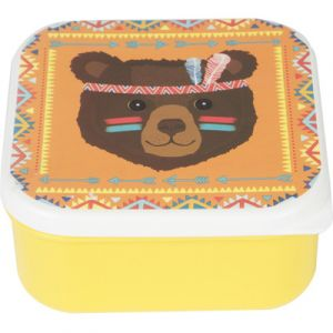 Sass & Belle Lunch Box Ours Animal Adventure