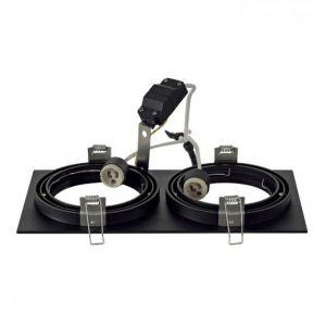 SLV Spot encastrable Ampoule halogène, LED GU10 113840 150 W noir (mat)
