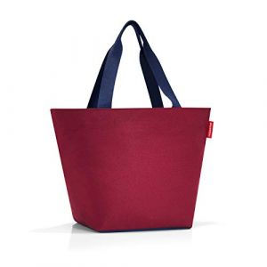 Reisenthel Shopper M Dark Ruby Sac de Sport Grand Format 51 Centimeters 15 Rouge