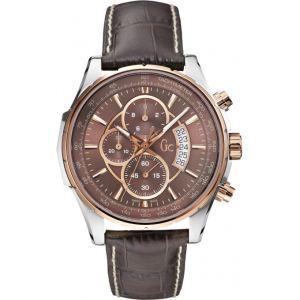 Guess X81002G4S - Montre pour homme avec bracelet en cuir