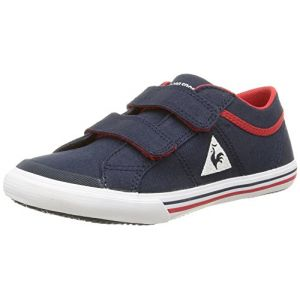 Le Coq Sportif Saint Gaetan PS CVS, Baskets Basses Mixte Enfant, Bleu (Dress Blue), 34 EU