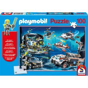 Schmidt Puzzle Playmobil - Top Agents Spiele