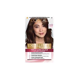 L'Oréal Excellence 4.02 Tempting Brunette Brown Permanent Hair Dye