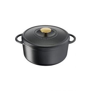 Tefal Cocotte fonte d'acier ronde HERITAGE 21 cm
