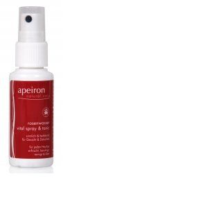 Apeiron Spray d'Eau de Rose Vitalisant & Tonifiant - 30 ml
