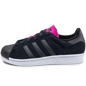 Adidas Superstar W Lo Sneaker chaussures noir rose blanc noir rose blanc 37 1/3 EU