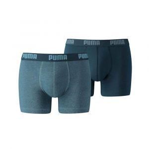 Puma Vêtements intérieurs -underwear Basic Boxer 2 Pack - Denim - Taille XXL