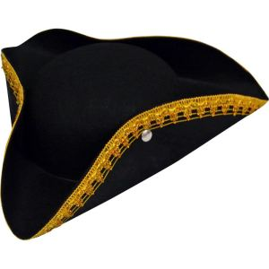 Chapeau tricorne pirate enfant